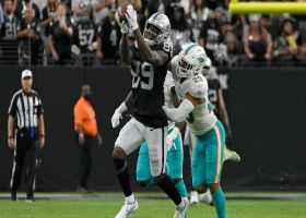 Carr floats downfield DIME to Edwards for huge 34-yard gain