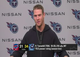 Ryan Tannehill reacts to 'complete team win' against Bills