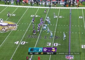 Kirk Cousins fires pinpoint 18-yard pass to Justin Jefferson on third-and-long