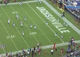 Danny Etling rolls out, finds Christian Blake for 12-yard TD