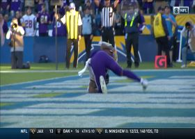 Mike Boone shows his power with diving TD effort