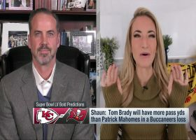 Cynthia Frelund, Shaun O'Hara make Super Bowl LV bold predictions
