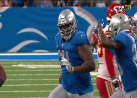 Lions' third 'Peanut Punch' of day results in third takeaway
