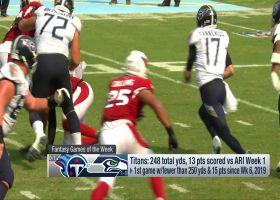 Start 'Em, Sit 'Em QBs, WRs for Week 2 | NFL Fantasy Live