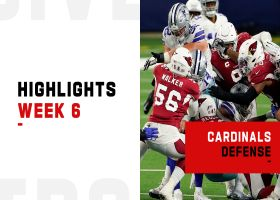 Cardinals' best defensive plays from strong 'MNF' win | Week 6
