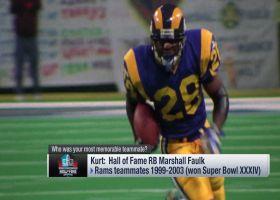 Kurt Warner: I had lots of great teammates, but Marshall Faulk was most memorable