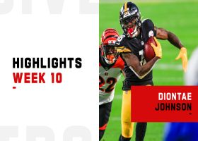 Every catch by Diontae Johnson from 116-yard game | Week 10