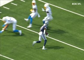 Ced Wilson jukes FOUR Chargers on shifty 16-yard gain