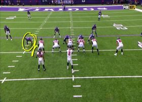 Everson Griffen unleashes wicked spin move for sack