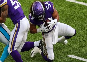 Eric Kendricks intercepts Bridgewater's red-zone laser