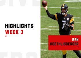 Ben Roethlisberger's best throws from 2-TD game   Week 3