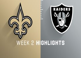 Saints vs. Raiders highlights | Week 2