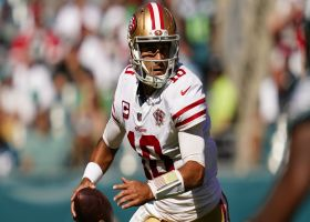 Jimmy Garoppolo plows ahead for first rushing TD since 2019