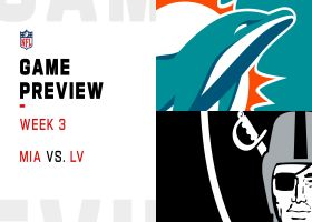 Dolphins vs. Raiders preview | Week 3