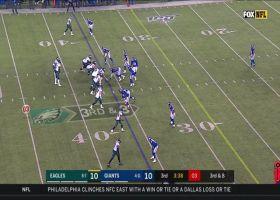 Dallas Goedert displays toe-drag swag on 14-yard grab
