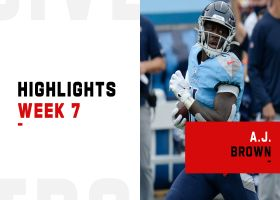 Every A.J. Brown catch from 153-yard game | Week 7