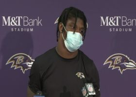 Lamar Jackson on Chiefs being his kryptonite: 'I called them that one time...one time'