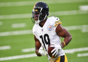 JuJu saves Steelers' drive with heads-up fumble recovery