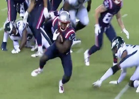 J.J. Taylor's filthy spin move sends defender to the turf