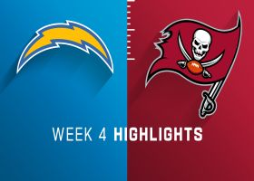 Chargers vs. Buccaneers highlights | Week 4