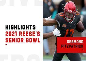 Desmond Fitzpatrick highlights | 2021 Reese's Senior Bowl