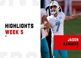 Every Jason Sanders made FG vs. the 49ers | Week 5