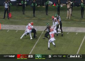 Le'Veon loses ball in Browns territory for costly turnover