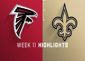 Falcons vs. Saints highlights | Week 11