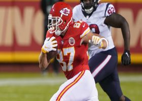 Kelce puts defender in spin cycle, uses stiff-arm to put K.C. in FG range