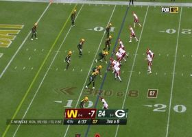 Chandon Sullivan plays receiver on perfectly timed red-zone INT