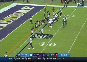 Matthew Judon gets a HUGE sack as Tannehill bobbles snap