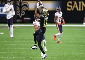 Drew Brees dials long distance to Michael Thomas for 38-yard pickup