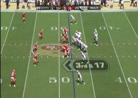 Zach Kerr's sack leads to major celebration along 49ers sideline