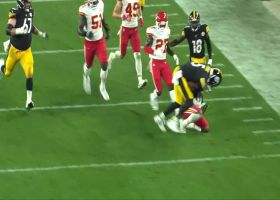 Ward-en of the end zone! Charvarius denies Pittsburgh points