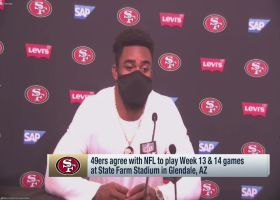 Raheem Mostert emotional after win over Rams in Week 12