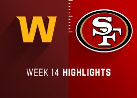 Washington vs. 49ers highlights | Week 14
