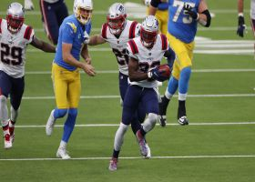 Can't-Miss Play: Devin McCourty races in for FG-block TD to end first half