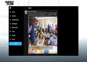 'Huddle & Flow': Kelvin Beachum on partnering with Intuit to bridge digital divide