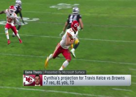 Game Theory: Why Travis Kelce has the best chance to score a TD on Divisional Round Sunday