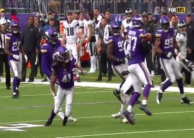 Everson Griffen records second-career INT after Eagles' fake FG goes awry
