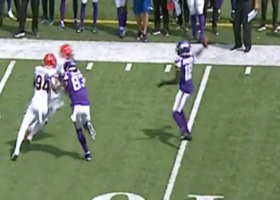 Trick-play alert! Justin Jefferson's first career pass goes for 11-yard gain