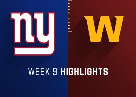Giants vs. Washington highlights | Week 9