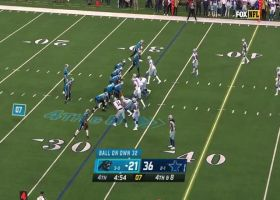 Brandon Zylstra's filthy route delivers big-time 55-yard catch and run on fourth down