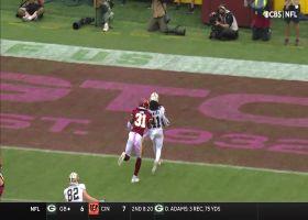 Alvin Kamara shoots out of a cannon on 23-yard TD run