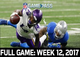 Full NFL Game: Vikings vs. Lions - Week 12, 2017 | NFL Game Pass
