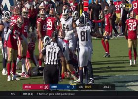 Robert Saleh is HYPED after 49ers stuff Rams for another fourth-down stop