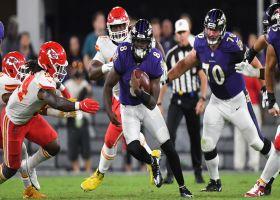 Front flip for six! Ravens regain lead on Lamar Jackson's second rushing TD