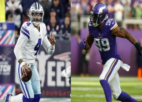 Michael Robinson scoffs at McGinest's upset pick for Cowboys-Vikings