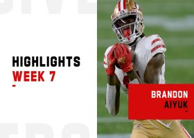 Every catch from Brandon Aiyuk's first career 100+ yard receiving game | Week 7