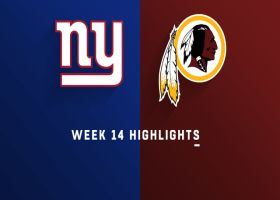 Giants vs. Redskins highlights | Week 14